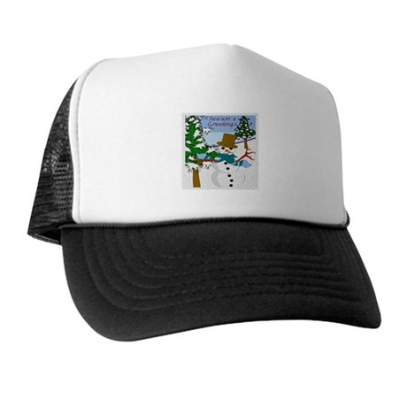Season's Greetings Trucker Hat