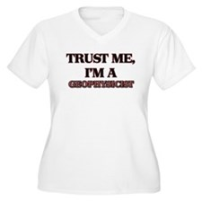 Trust Me, I'm a Geophysicist Plus Size T-Shirt