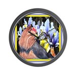 Unique Yorkshire Terrier Wall Clock