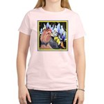 Unique Yorkshire Terrier Women's Pink T-Shirt