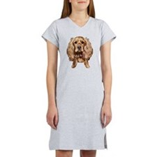 EnglishCockerSpaniel005 Women's Nightshirt