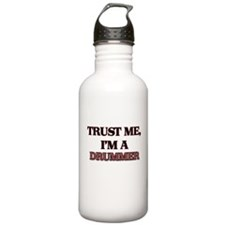 Trust Me, I'm a Drummer Water Bottle