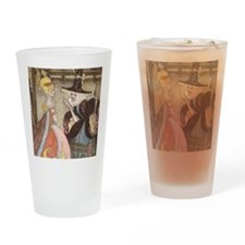 Vintage Cinderella Fairy Tale Drinking Glass