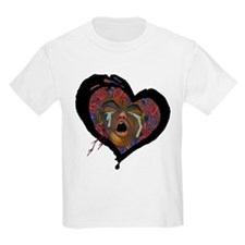 Sickle Cell Art 1 Kids T-Shirt