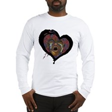 Sickle Cell Art 1 Long Sleeve T-Shirt
