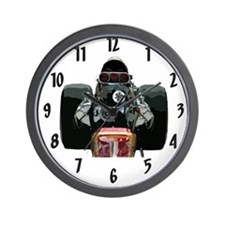 Nostalgia Dragster Wall Clock