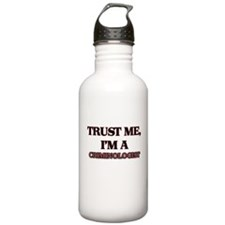 Trust Me, I'm a Criminologist Water Bottle