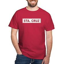 Roadmarker Santa Cruz - Spain T-Shirt