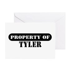Property of Tyler Greeting Cards (Pk of 10)