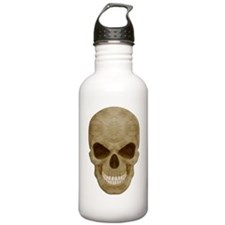 Camouflage Skull Water Bottle