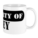 Property of Trey Small Mugs