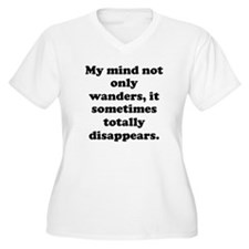 Disappering Mind Plus Size T-Shirt