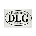 Dillingham Area Rectangle Magnet