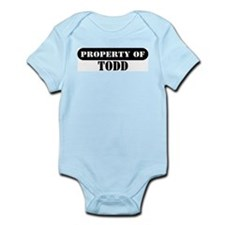 Property of Todd Infant Bodysuit