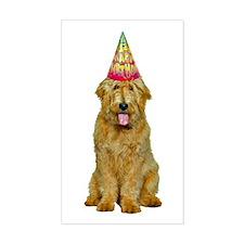 Goldendoodle Birthday Sticker (Rectangle)