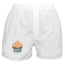 Being 65 is Sweet Birthday Boxer Shorts