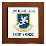 U.S. Air Force Security Forces Framed Tile