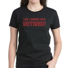 The legend has retired! Tee