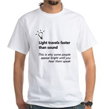 Light Travels Faster T-Shirt