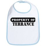 Property of Terrance Bib
