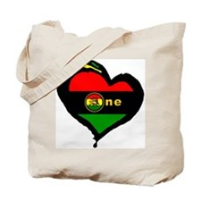 Afro Rasta Lion Tote Bag