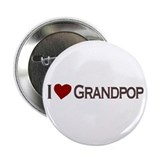 I Love Grandpop Button