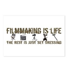 Filmmaking is Life Postcards (Package of 8)