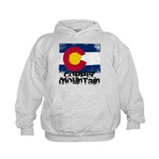 Copper Mountain Grunge Flag Hoodie
