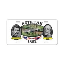 Antietam Aluminum License Plate