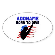 BORN TO DIVE Decal