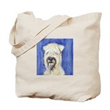 SOFT COATED WHEATEN TERRIER PORTRAIT Tote Bag