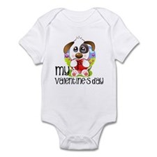 1st Valentine's Day Infant Bodysuit