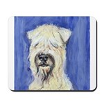 SOFT COATED WHEATEN TERRIER portrait Mousepad