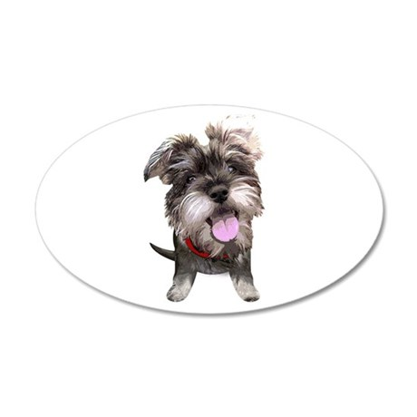 Mini Schnauzer002 Wall Decal