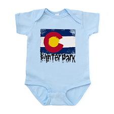 Winter Park Grunge Flag Infant Bodysuit
