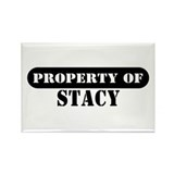 Property of Stacy Rectangle Magnet (10 pack)