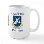 U.S. Air Force Security Forces Large Mug