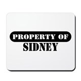 Property of Sidney Mousepad