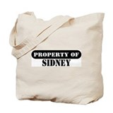 Property of Sidney Tote Bag