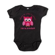 Who? My Big brother! Baby Bodysuit