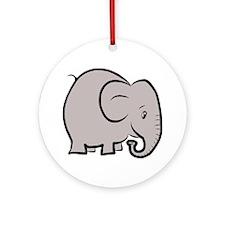 elefant Round Ornament