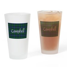 Tartan - Campbell Drinking Glass