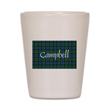 Tartan - Campbell Shot Glass