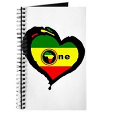 Afrika Rasta Heart I Journal