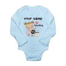 Personalized Girl Bowling Body Suit