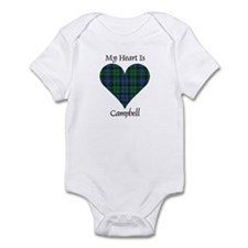 Heart - Campbell Infant Bodysuit
