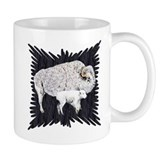 White Buffalo Small Mugs
