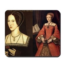Anne and Elizabeth Mousepad