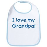 I Love My Grandpa! Bib