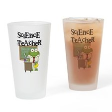 Frog Science Teacher Drinking Glass